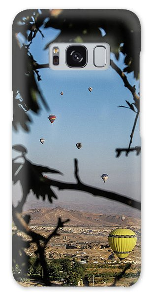 Hot Air Balloons In Cappadocia, Turkey Galaxy Case