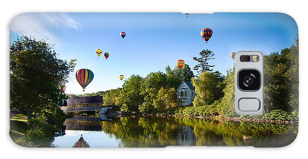 Hot Air Balloons In Queechee 2015 Galaxy Case by Jeff Folger