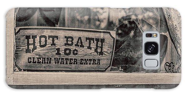 Hot Bath Galaxy Case