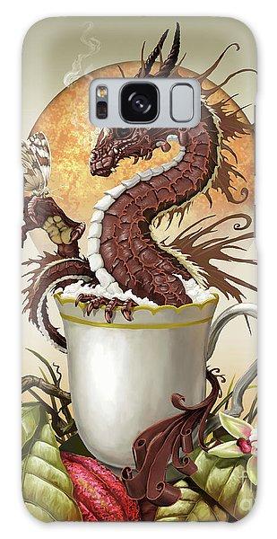 Hot Chocolate Dragon Galaxy Case