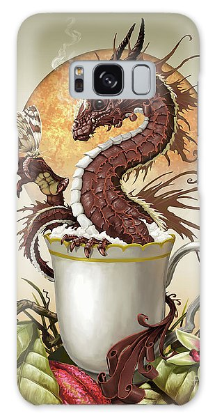 Hot Chocolate Dragon Galaxy Case