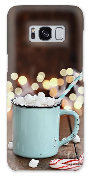 Hot Cocoa With Mini Marshmallows Galaxy Case by Stephanie Frey