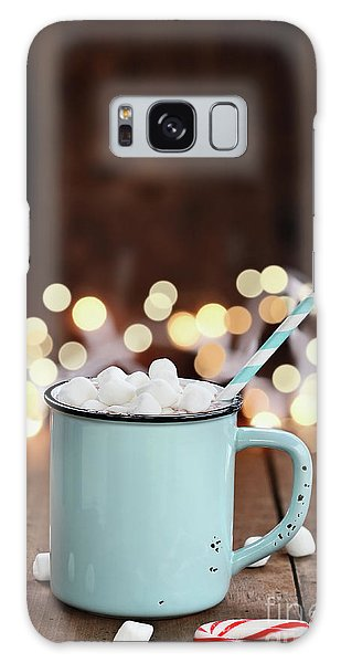 Hot Cocoa With Mini Marshmallows Galaxy Case