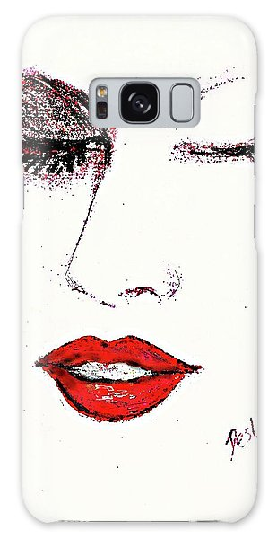 Hot Lips Galaxy Case