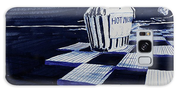Galaxy Case - Hot Mustard by Dave Martsolf