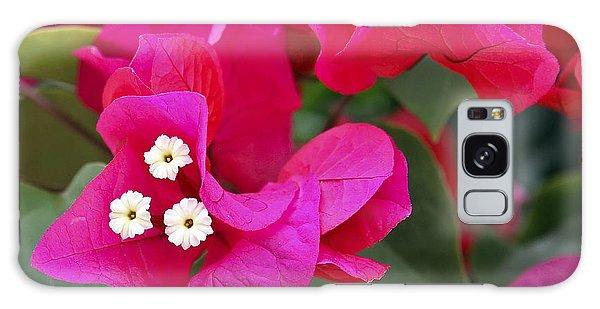 Hot Pink Bougainvillea Galaxy Case
