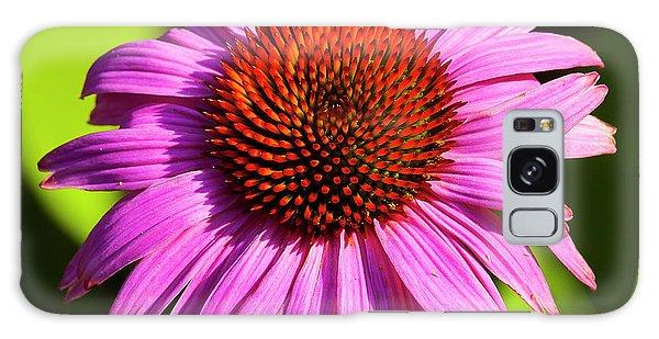 Hot Pink Flower Galaxy Case