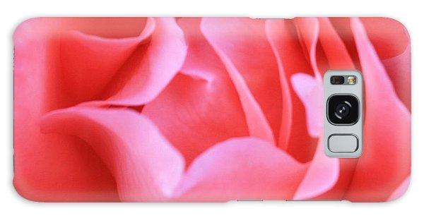 Hot Pink Petals Galaxy Case