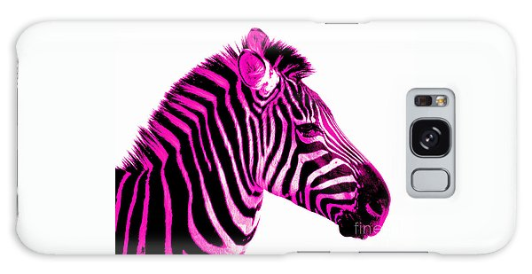 Hot Pink Zebra Galaxy Case
