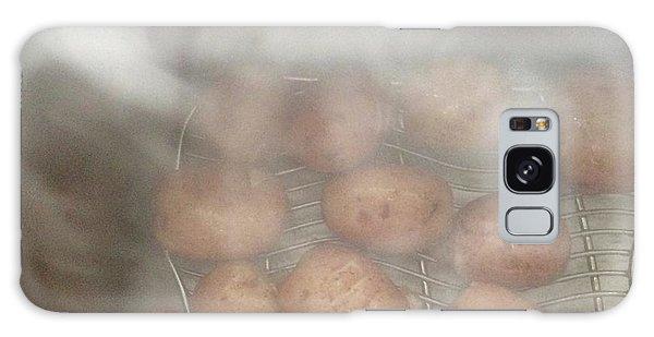 Hot Potato Galaxy Case by Kim Nelson