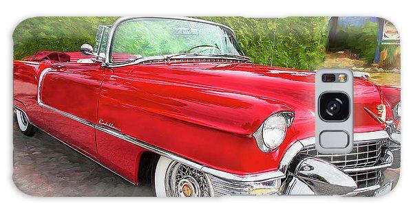 Hot Red 1955 Cadillac Convertible Galaxy Case