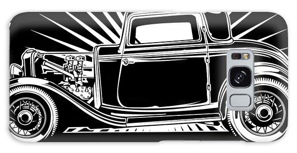 Galaxy Case - Hot Rod Shop Shirt by Matt Dyck