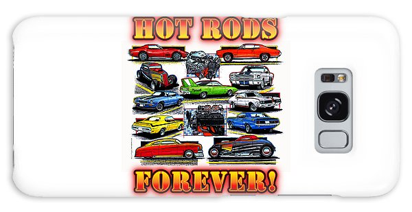 Hot Rods Forever Galaxy Case
