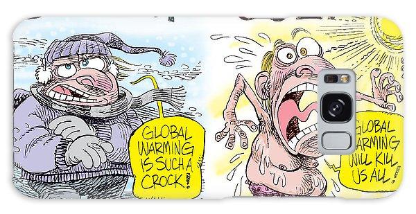 Hot Summer Global Warming Galaxy Case