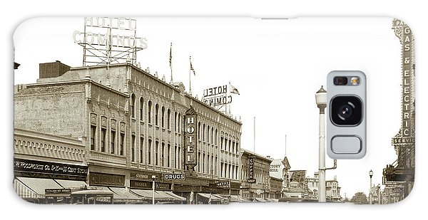 Hotel Cominos On Main Street In Salinas, Calif. Circa 1932 Zan Stark Photo # 423  Galaxy Case