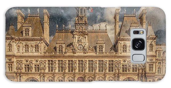 Paris, France - Hotel De Ville Galaxy Case