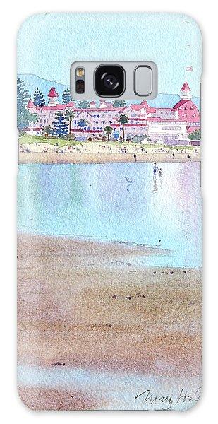 Hotel Del Coronado Low Tide Galaxy Case
