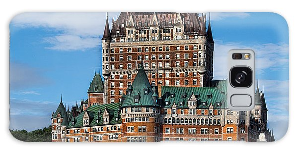 Quebec City Galaxy Case - Chateau Frontenac In Quebec City by David Smith