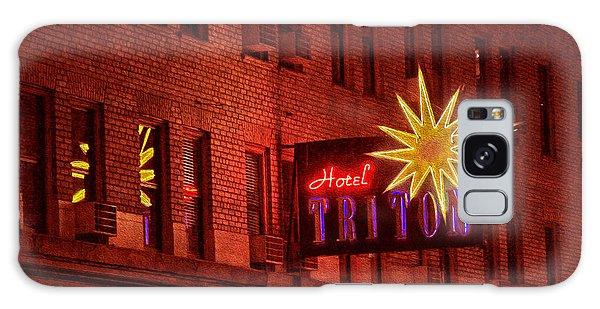 Hotel Triton Neon Sign Galaxy Case