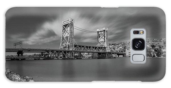 Houghton Portage Bridge Galaxy Case