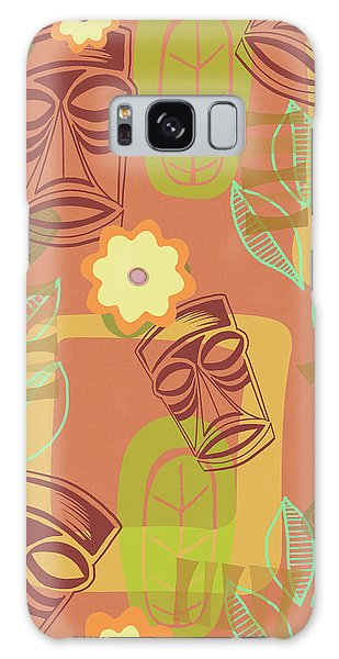 Vintage Galaxy Case - Hour At The Tiki Room by Little Bunny Sunshine