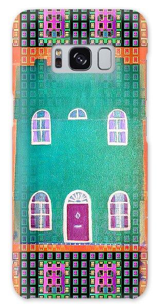House Galaxy Case by Barbara Moignard