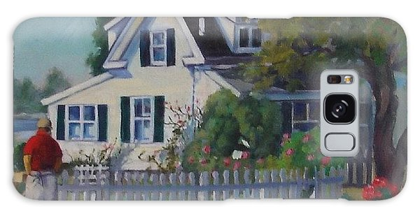 House By The Sea Galaxy Case
