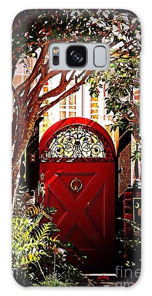 House Door 5 In Charleston Sc  Galaxy Case