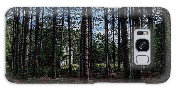 House In The Pines Galaxy Case