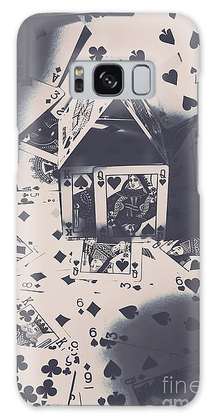 Gamble Galaxy Case - House Of Cards by Jorgo Photography - Wall Art Gallery