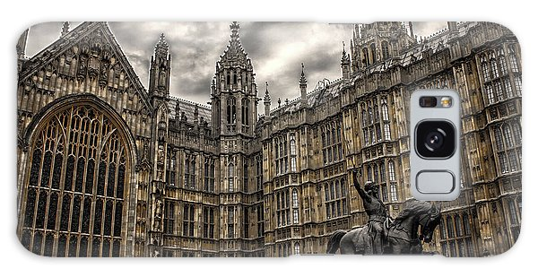 Houses Of Parliament Galaxy Case - House Of Commons by Martin Newman
