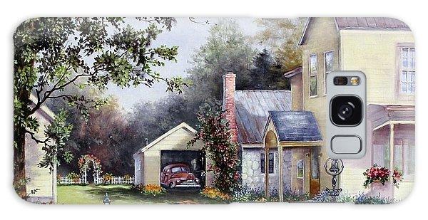 House On Bird Street Galaxy Case