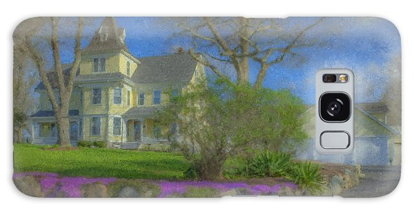 House On Elm St., Easton, Ma Galaxy Case