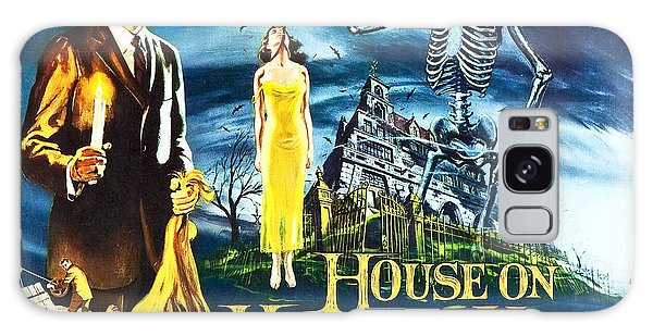 House On Haunted Hill Poster Classic Horror Movie  Galaxy Case