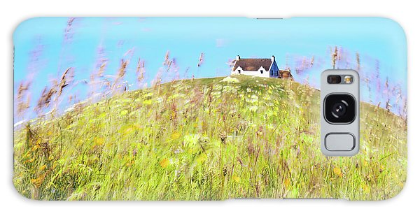 Impression Galaxy Case - House On The Hill by Janet Burdon