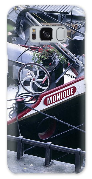 Houseboat In France Galaxy Case