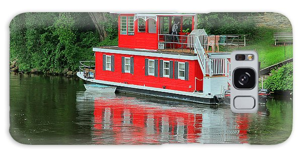 Houseboat On The Mississippi River Galaxy Case