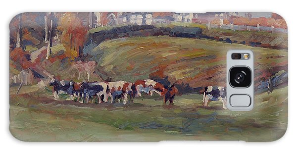 Briex Galaxy Case - Houses And Cows In Schweiberg by Nop Briex