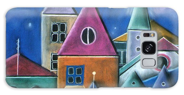 Houses Galaxy Case