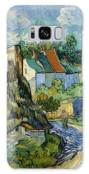 Galaxy Case featuring the painting Houses In Auvers by Van Gogh