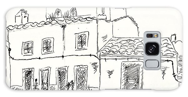 Houses In Elvas Galaxy Case