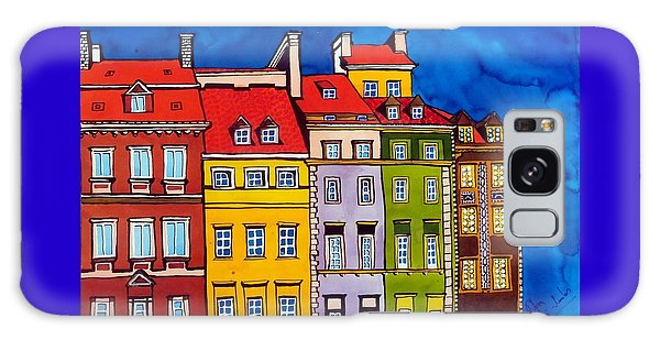 Houses In The Oldtown Of Warsaw Galaxy Case