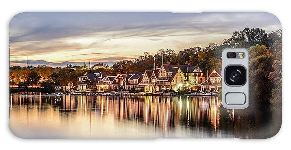Houses On The Water Galaxy Case