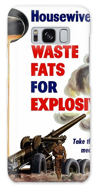 Wasted Galaxy Case - Housewives - Save Waste Fats For Explosives by War Is Hell Store