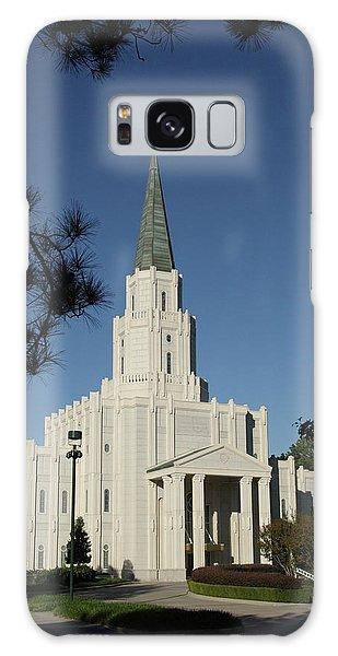 Houston Lds Temple Galaxy Case