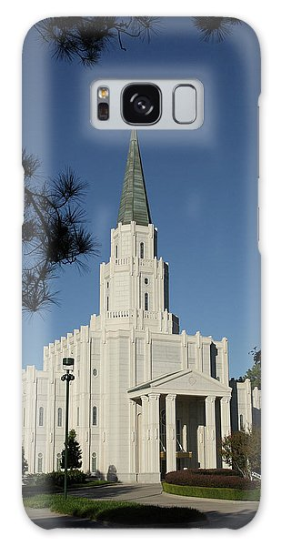 Houston Lds Temple Galaxy Case