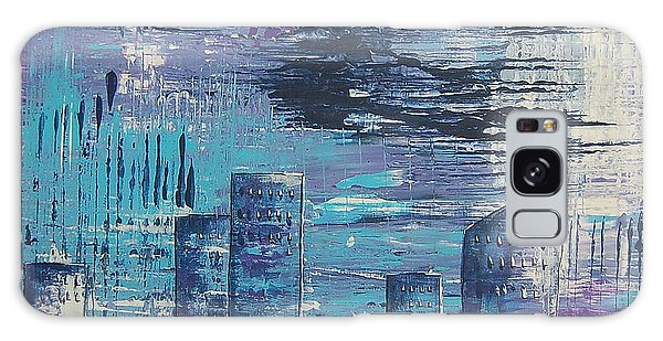Houston Skyline 2 Galaxy Case