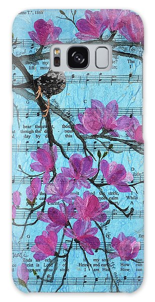 Song Birds Galaxy Case - How Can I Keep From Singing? Spring by Mary Martin