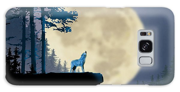 Howling Coyote Galaxy Case