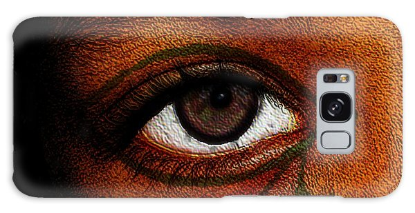 Hru's Eye Galaxy Case by Iowan Stone-Flowers